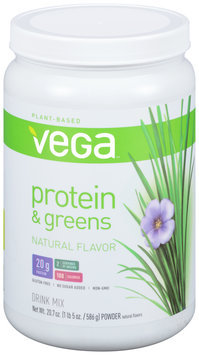 Vega™ Protein & Greens Natural Drink Mix 20.7 oz. Canister