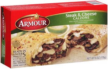 Armour® Steak & Cheese Calzone 6 oz. Box