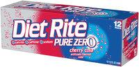 Diet Rite® Pure Zero™ Cherry Cola 12-12 fl. oz. Cans