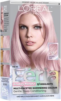 L'Oréal® Paris Feria® Smokey Pastels P2 Smokey Pink Hair Color 1 Kit Box
