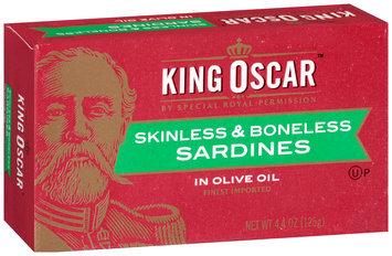 King Oscar™ Skinless & Boneless Sardines in Olive Oil 4.4 oz. Box