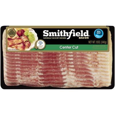 Smithfield® Naturally Hickory Smoked Center Cut Bacon 12 oz. Package