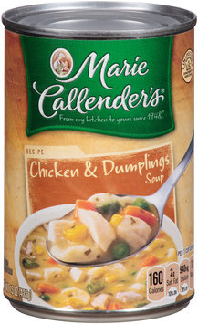 Marie Callender's® Chicken & Dumplings Soup 15 oz. Can