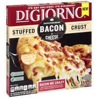 DIGIORNO Bacon & Cheese Stuffed Crust Bacon Me Crazy Frozen Pizza 20 oz. Box
