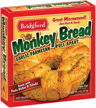 Bridgford Garlic Parmesan Pull-Apart Monkey Bread 14.5 Oz Box