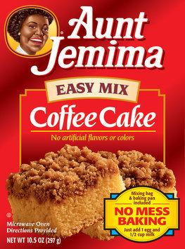 Aunt Jemima Coffee Cake Easy Mix 10.5 Oz Box