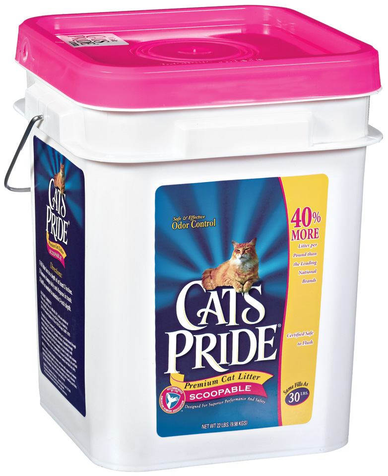 Cat's Pride Premium Cat Litter Scoopable 22 Lb Pail
