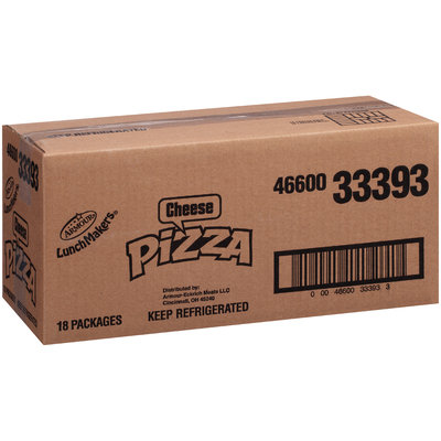 Armour® LunchMakers™ Cheese Pizza with Nestlé® Crunch® Bar 2.57 oz. Tray