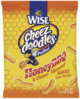 WISE Puffed Honey BBQ & Cheese Cheez Doodles
