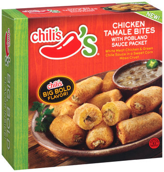 Chili's® Chicken Tamale Bites with Poblano Sauce Packet 16 oz. Box