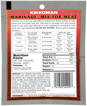 KIKKOMAN For Meat Marinade Mix