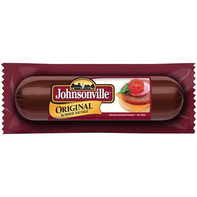 Johnsonville Original Summer Sausage 9oz chub (101434)