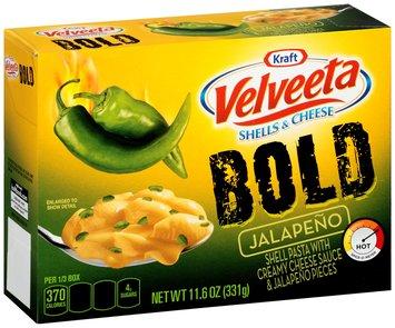 Kraft Velveeta Bold Jalapeno Shells & Cheese 11.6 oz. Box