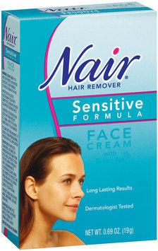 Nair Face Cream W/Green Tea Sensitive Formula Hair Remover .69 Oz Box