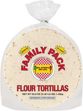 Albuquerque Tortilla™ Flour Tortillas Family Pack 24 count