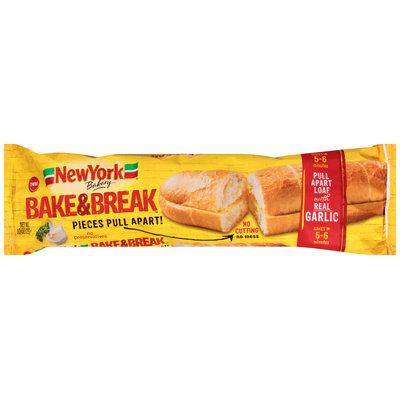 New York® Bakery Bake & Break™ Garlic Bread 10 oz. Bag