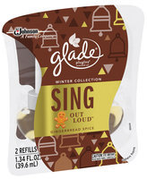 Glade® PlugIns® Sing Out Loud™ Scented Oil Refill Air Freshener 2 ct Bottles
