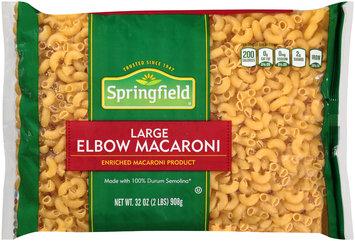 Springfield® Large Elbow Macaroni 32 oz. Bag