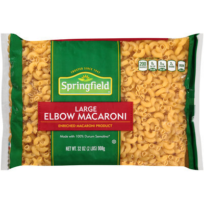 Springfield® Large Elbow Macaroni 32 oz. Bag