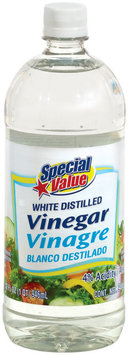 Special Value White Distilled Vinegar 32 Fl Oz Plastic Bottle