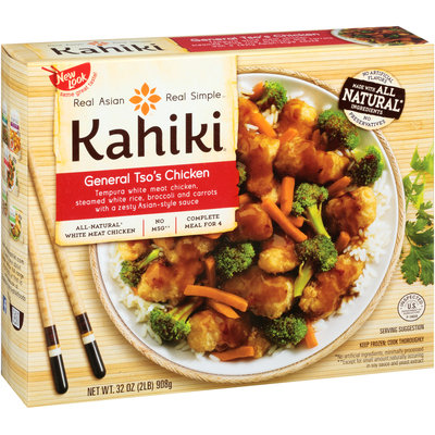 Kahiki® General Tso's Chicken Frozen Entree 32 oz. Box
