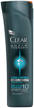 Clear Mean Scalp Therapy Clean & Refresh Anti-Dandruff Daily Shampoo 12.9 FL OZ PLASTIC BOTTLE