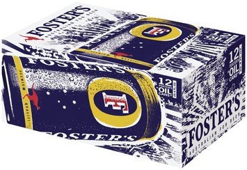 Foster's Oil Cans 25.4 Oz  Lager 12 Pk Cans