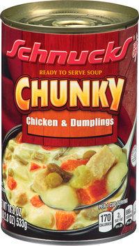 Schnucks® Chunky Chicken & Dumplings Soup 18.8 oz. Can