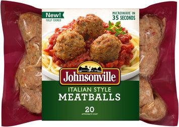 Johnsonville® Fully Cooked Italian Style Meatballs