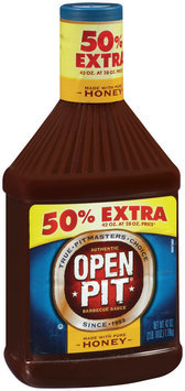 Open Pit Honey Barbecue Sauce 42 oz Plastic Bottle