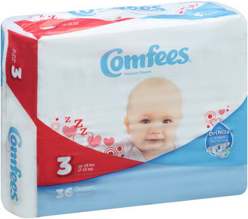 CMF-3 Comfees® Baby Diapers Size 3, 36 count