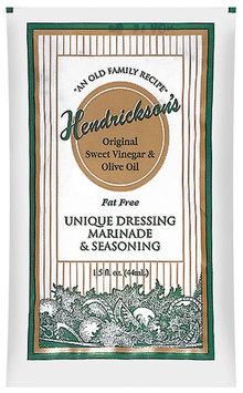 Hendrickson's Original Sweet Vinegar & Olive Oil Fat Free Dressing Marinade & Seasoning