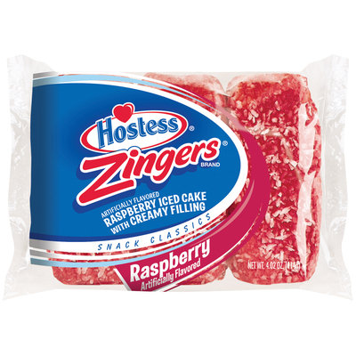 Hostess® Raspberry Zingers® 3 ct Bag