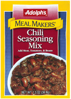 Dry Seasoning Chili Meal Makers Seasoning Mix 1.3 Oz Peg