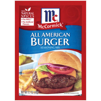 McCormick® All American Burger Seasoning Mix
