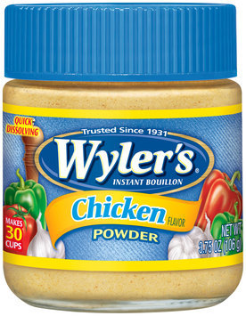 Wyler's® Chicken Flavor Instant Bouillon Powder 3.75 oz. Jar