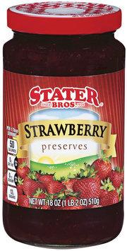 Stater Bros.® Strawberry Preserves 18 oz.