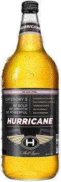 HURRICANE  Beer 40 OZ GLASS BOTTLE