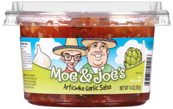 Moe & Joe's™ Artichoke Garlic Salsa 14 oz. Tub