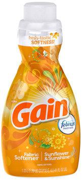 Gain® Sunflower and Sunshine Liquid Fabric Softener 41 fl. oz. Plastic Jug