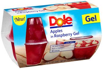Dole Apples in Raspberry Gel