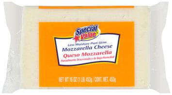 Special Value® Low-Moisture Part-Skim Mozzarella Cheese 16 oz