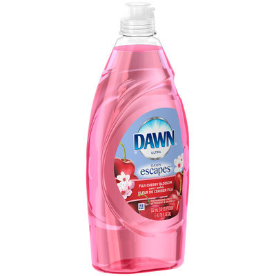 Dawn Escapes Dishwashing Liquid Fuji Cherry Blossom