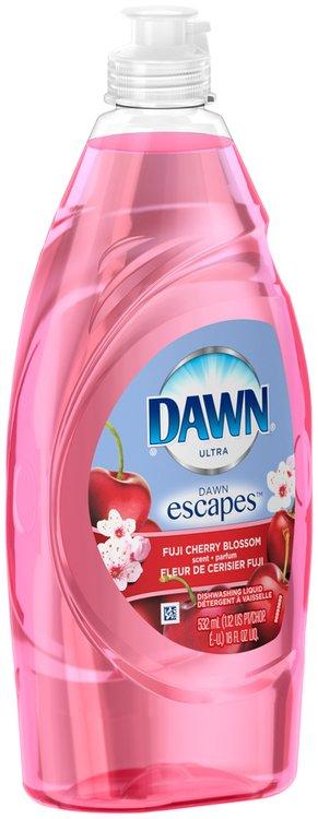 Dawn® Escapes™ Dishwashing Liquid Fuji Cherry Blossom 18 fl. oz.