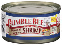 Bumble Bee® Deveined Medium Shrimp 4 Oz