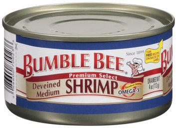 Bumble Bee® Deveined Medium Shrimp 4 Oz