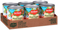 Del Monte™ California Lite Yellow Cling Sliced Peaches in Extra Light Syrup 6-29 oz. Cans