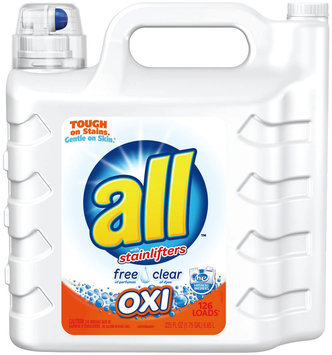 all® free clear OXI Laundry Detergent 126 Loads 225 fl. oz. Bottle