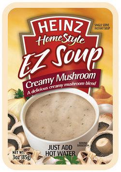 Heinz Homestyle Creamy Mushroom EZ Soup 3 Oz Pouch