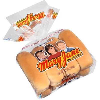Mary Jane and Friends® Hot Dog Buns 8 ct Bag